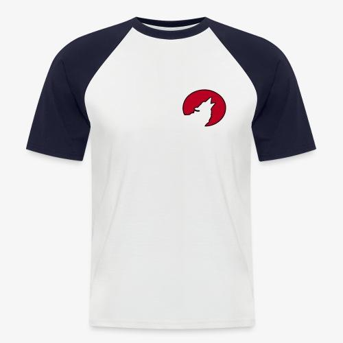 Moonwolf Raglan - Männer Baseball-T-Shirt
