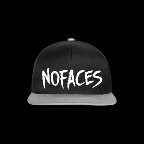 NO FACES Snapback Cap schwarz/grau - Snapback Cap