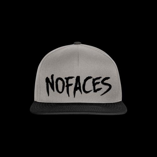 NO FACES Snapback Cap grau/schwarz - Snapback Cap