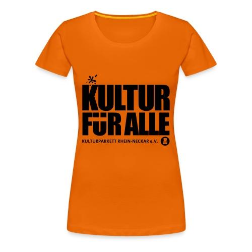 Kultur für Alle - Frauen Premium T-Shirt