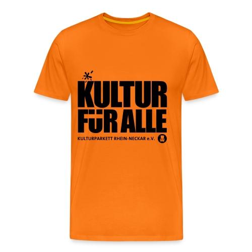 Kultur für Alle - Männer Premium T-Shirt