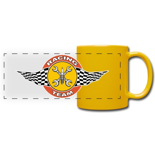 Racing Team - Full Color Panoramic Mug