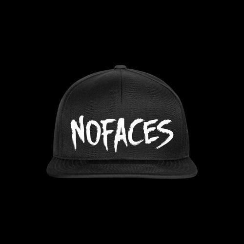 NO FACES Snapback Cap schwarz - Snapback Cap