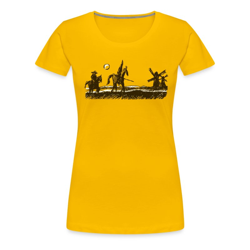 Don Quixote - Women's Premium T-Shirt