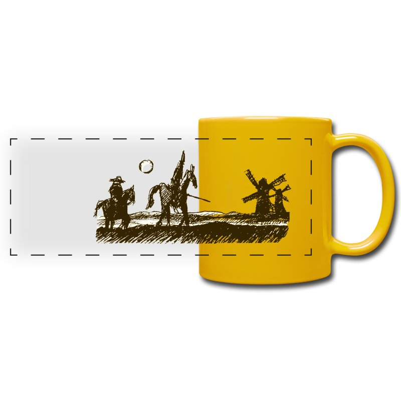Don Quixote - Full Color Panoramic Mug