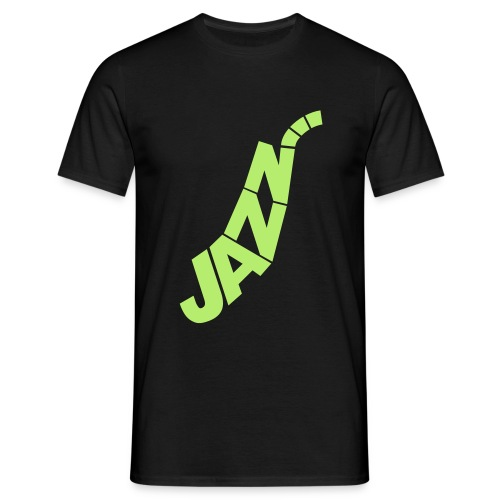 You can only love jazz - Herre-T-shirt