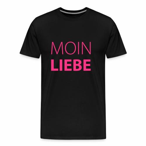 Herren T-Shirt Moin Liebe + Vielfaltslogo - Männer Premium T-Shirt