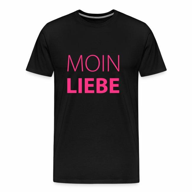 Herren T-Shirt Moin Liebe + Vielfaltslogo