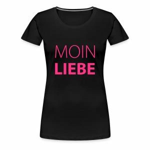 Damen T-Shirt Moin Liebe + Vielfaltslogo - Frauen Premium T-Shirt