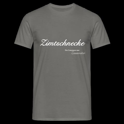 Zimtschnecke - Herren T-Shirt - Männer T-Shirt