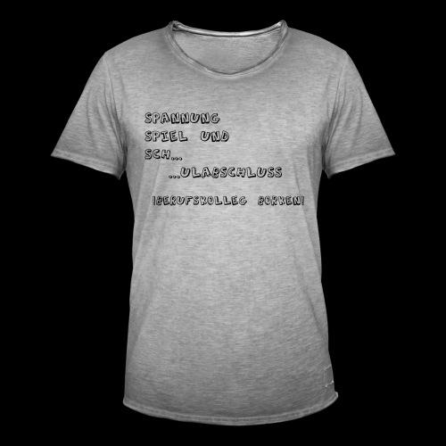 Männer Vintage T-Shirt, Digitaldirektdruck - Männer Vintage T-Shirt