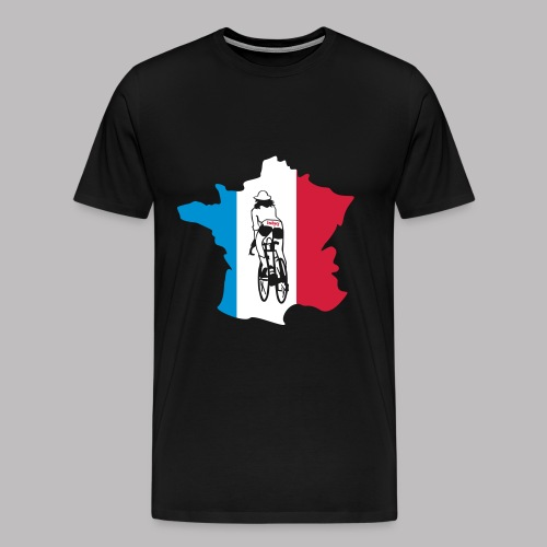 T-Shirt La Bici Girl in France - Männer Premium T-Shirt