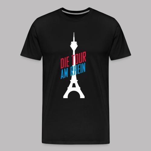T-Shirt Die Tour am Rhein - schwarz - Männer Premium T-Shirt
