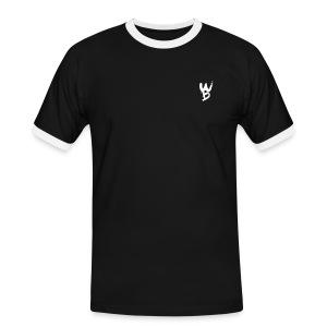 WayanoBoss Contrast T-shirt Mannen - Mannen contrastshirt