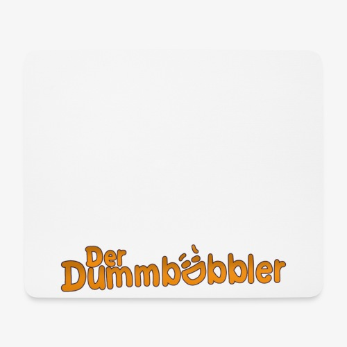 DerDummbabbler MousePad Schriftzug - Mousepad (Querformat)