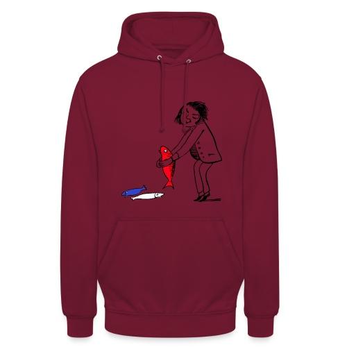 Le Poisson Rouge - Sweat-shirt à capuche unisexe