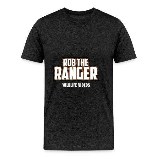 Large Logo Rob The Ranger Tee - Men's Premium T-Shirt