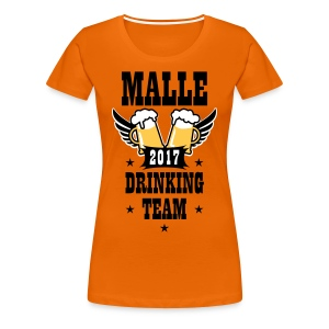 06 Malle 2017 Drinking Team Beer Bier Wings T-Shirt - Frauen Premium T-Shirt
