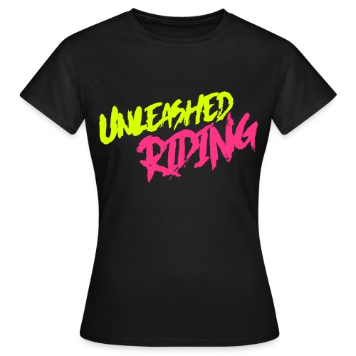 Unleashed riding shirt damen  - Frauen T-Shirt