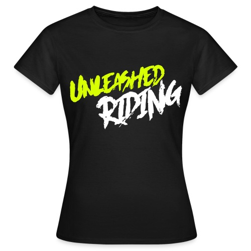 Unleashed ridng shirt Damen  - Frauen T-Shirt