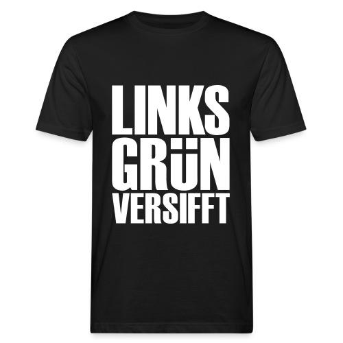 Linksgrünversifft - Männer Bio-T-Shirt