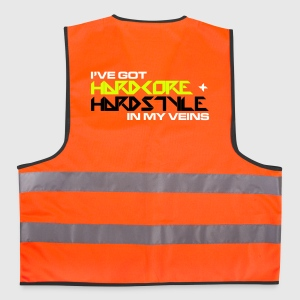 HC + Hardstyle EDM Quote Jackets & Vests - Reflective Vest