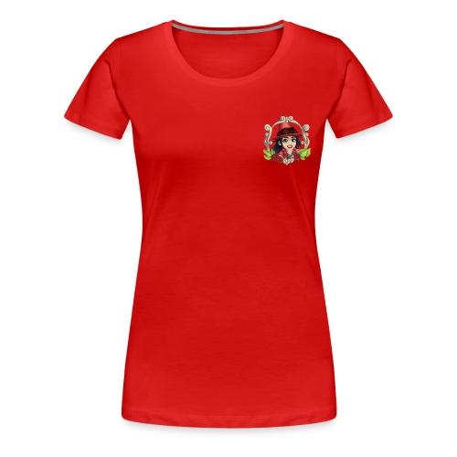 Frauen Premium T-Shirt Hexe, versch. Farben - Frauen Premium T-Shirt