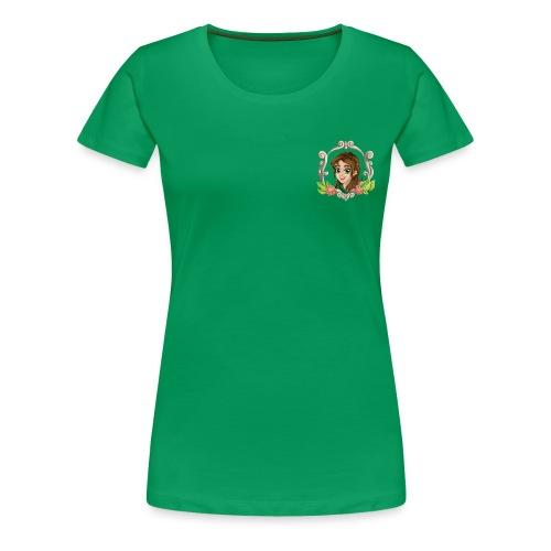 Frauen Premium T-Shirt Druidin, versch. Farben - Frauen Premium T-Shirt