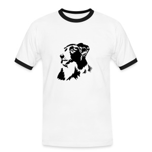 Mens Contrast Collie - Men's Ringer Shirt