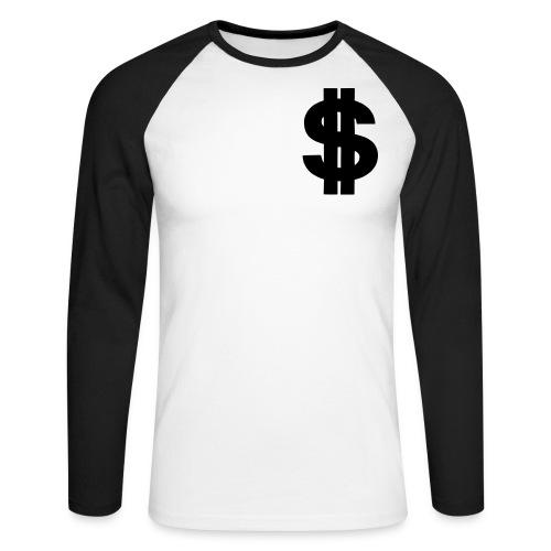 Tee-shirt de basket - T-shirt baseball manches longues Homme