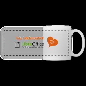 Take back control mug - Panoramic Mug