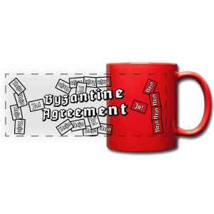 Byzantine Agreement (Red) - Full Color Panoramic Mug