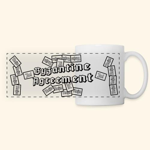 Byzantine Agreement (White) - Panoramic Mug