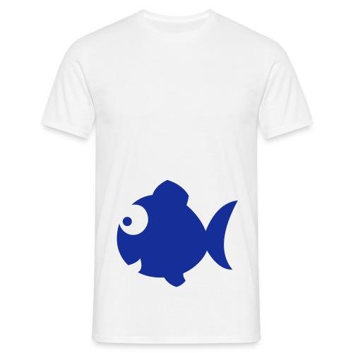 Fisk - T-skjorte for menn
