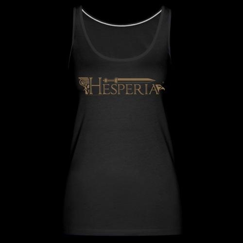 HESPERIA-Logo 2016-girl tank top - Women's Premium Tank Top