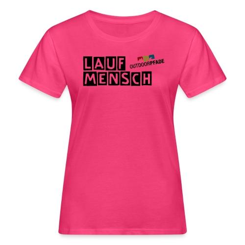 LaufMensch#01w - Frauen Bio-T-Shirt