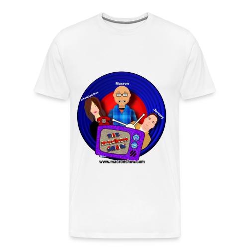 The Macron Crew Men's Premium T-Shirt - Men's Premium T-Shirt