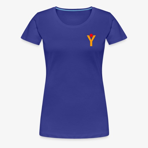 Damen T-Shirt - Blau - Frauen Premium T-Shirt