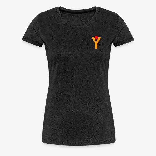 Damen T-Shirt - Grau - Frauen Premium T-Shirt