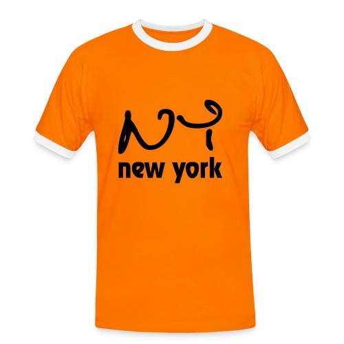 new york - Camiseta contraste hombre