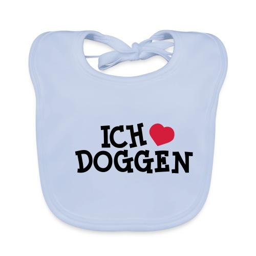 Ich liebe Doggen - Baby Bio-Lätzchen