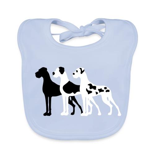 3 Doggen - Baby Bio-Lätzchen