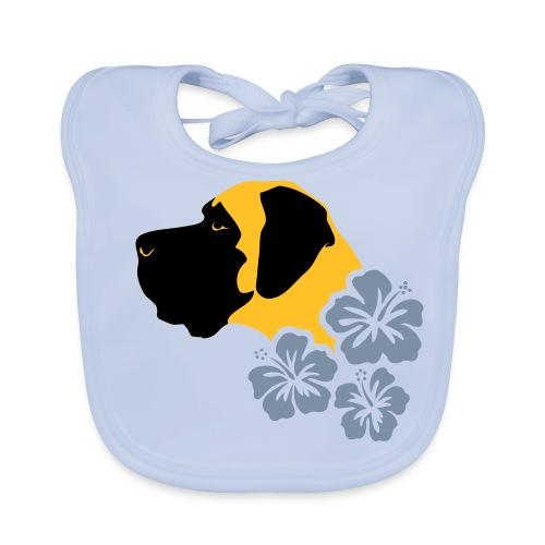 Kopf-Hibiskus - Baby Bio-Lätzchen