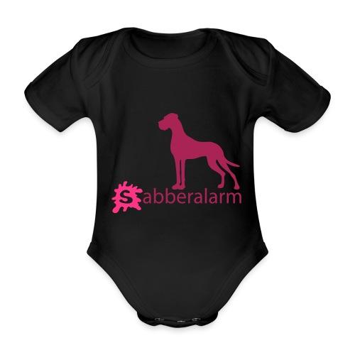 Sabberalarm - Baby Bio-Kurzarm-Body
