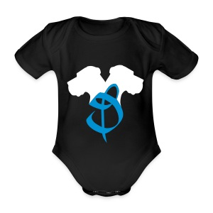 D.Köpfe - Baby Bio-Kurzarm-Body