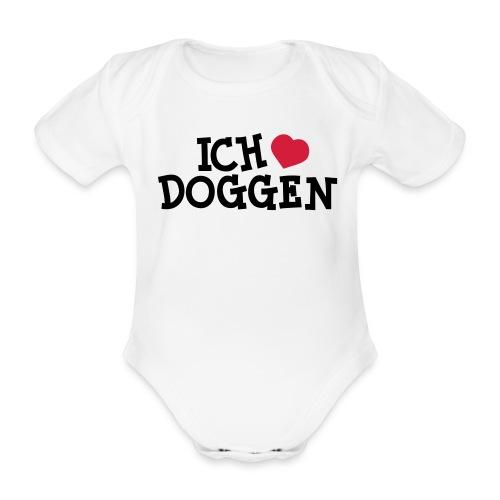 Ich Liebe Doggen - Baby Bio-Kurzarm-Body