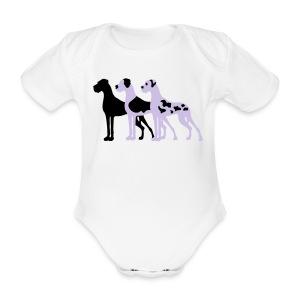 2.Doggen - Baby Bio-Kurzarm-Body