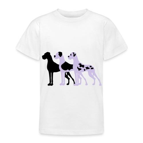 3-Doggen - Teenager T-Shirt