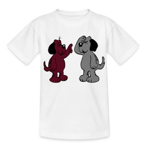 Dog-Talk - Teenager T-Shirt