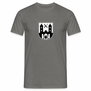 Simson Schwalbe - Suhl Wappen (2c + Dein Text) - Men's T-Shirt